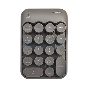 Numeric Keypad  Wireless  (GREY) MOFii BISCUIT