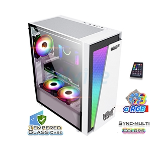 E-ATX Case (NP) ITSONAS Twilight ARGB TG (White)