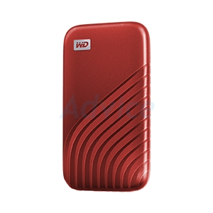 500 GB Ext SSD WD My Passport Red (WDBAGF5000ARD-WESN)