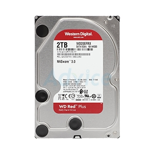 2 TB HDD WD Red NAS (5400RPM, 64MB, SATA-3, WD20EFRX)