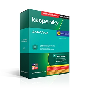 Kaspersky Antivirus (3Devices)