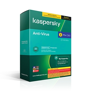 Kaspersky Antivirus (3Devices) Renewal