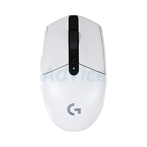 OPTICAL MOUSE LOGITECH (G304) LIGHTSPEED GAMING WIRELESS WHITE