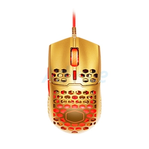 OPTICAL MOUSE COOLERMASTER MM711 GOLDEN RED EDITION GAMING (GOLD/RED)