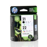 HP 21A BK + 22A COL 'Value Pack'