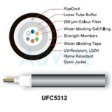 Fiber Optic Cable LINK (UFC5312) 12 Core (OM2) All-Dielectric 1M.