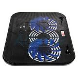 Cooler Pad HVC-632 (2Fan) Black 'OKER'