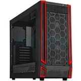 ATX Case (NP) SilverStone RL05BR (Black-Red)