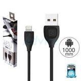 Cable Charger for iPhone (1M,RC-050i) LESU 'REMAX' Black