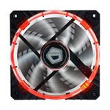 FAN CASE ID Cooling 120mm Ring CF-12025 (Red Led)
