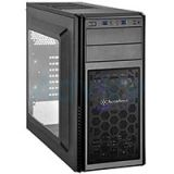 ATX Case (NP) SilverStone PS11B (Black)