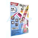 Photo Inkjet Glossy A4 130G. MELON (100/Pack)