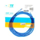 CAT6 UTP Cable 3m. AMP By Commscope (NPC06UVDB-BL010F) Blue